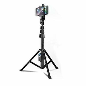 (2) Fugetek All-In-One Selfie Stick/Tripod, Wireless Bluetooth Remote, Open Box
