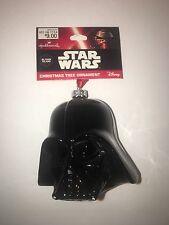 Hallmark Darth Vader Helmet Blown Glass Star Wars Christmas Ornament MINT NEW