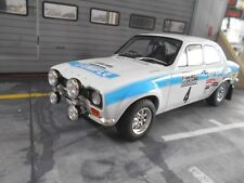 FORD Escort MkI RS 1600 RAC RALLY GB 1972 #4 R. Clark Uniflo Altaya Ixo 1:18