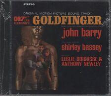 James Bond  CD-SOUNDTRACK  GOLDFINGER  (c) 1964  EMI   NEU / OVP