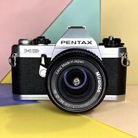 PENTAX MG 35mm SLR Camera W/ MC 28mm F:2.8 Miranda Lens  Retro Lomo Tested!