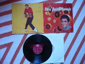 Elvis Presley Elvis' Golden Records Vinyl UK 1958 RCA Red Seal 1st Press LP Book