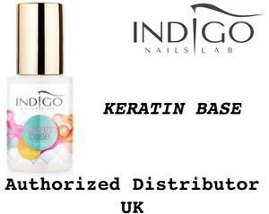 INDIGO KERATIN BASE  5ML , 15ML  NAIL THERAPY  Authorized Distributor UK