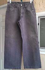 "Armani Men's Jeans ECO-WASH P-05 Size 30 X 28"". Gray Color."