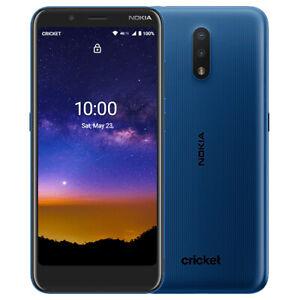 New Nokia C2 Tava  Cricket Cell Phone 32 GB