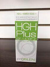 NEW Sealed prOBLEN HGH-Plus IGF-1 & IGF-2 Homeopathic Organotherapy 1.0oz
