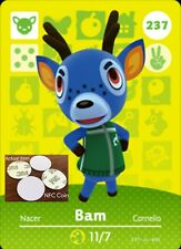 Bam NFC Tag/Coin Amiibo Card Animal Crossing New Horizons! Free Shipping!