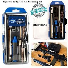 Cleaning Kit AR15 Rifle Tools 223 5.56 Caliber Gunmaster Tactical 17pc Brushes