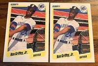 1991 Fleer #513 Ken Griffey JR - Mariners (2)