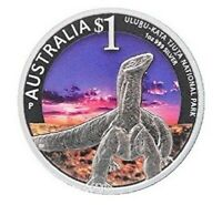 2014 AUSTRALIA WORLD HERITAGE SITES ULURU-KATA TJUTA 1oz Silver Proof Coin