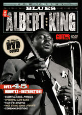 Learn to Play BLUES GUITAR STYLE ALBERT KING Video Lessons DVD with ANDY ALEDORT