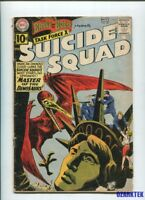 Brave and the Bold #38  SUICIDE SQUAD DC Comics 1961 GD