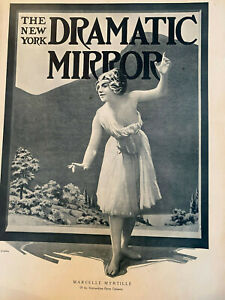 New York DRAMATIC MIRROR 1910 rare Vaudeville , Film ESSANAY, BIOGRAPH