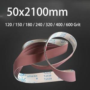 50x2100mm Sanding Belt For Abrasive Belt Machine 120 - 600 Grit Sander Grinding