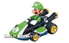 "Carrera GO!!! Nintendo Mario Kart 8 ""Luigi"" 1/43 analog slot car 64034"