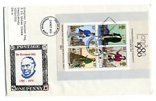 Rare Philcovers FDC International Stamp Exhibition London 1980 2nd Miniature