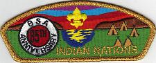 Indian Nations Council (SA-9) CSP, 85th Anniv. BSA (1995), Mint!