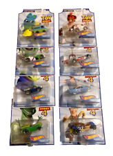 Hot Wheels Disney Toy Story 4 Series 1 & 2 1:64 Scale 8 Diecast Vehicle Set!