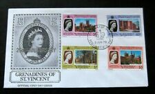 Grenadines of St Vincent-1978-25th Anniv. of the Coronation FDC