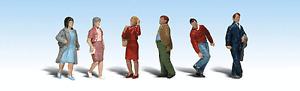 HO Scale Model Railroad Trains Woodland Scenics People Walking Figures 1913