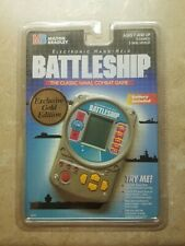 Rare Gold Milton Bradley Battleship Electronic Handheld Game Sealed 95' NIP NOS