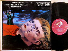 RCA SHADED DOG Wagner TRISTAN & ISOLDE Flagstad FURTWANGLER LM-1829 4s/6s EX