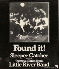 24/6/78PN53 Advert: 'sleeper Catcher' A New Album By Little River Band 7x7