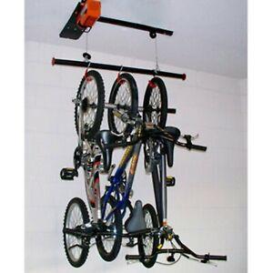 Garage Gator GGR125 Motorized Bike Lift Hoist Electric NEW Kayak, Canoe Storage