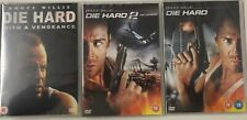 Die Hard Trilogy 1-3 (3xDVD) New Sealed Missing Slipcover Free UK P&P