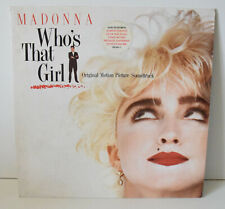 33 tours MADONNA Who's That Girl 925611-1  1987