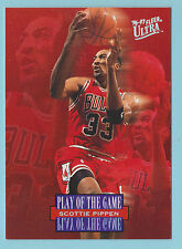 1996-97 Fleer Ultra Play Of the Game Scottie Pippen Chicago Bulls #297 (KCR)