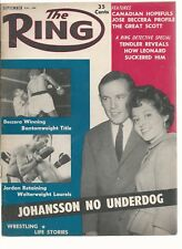 RING MAGAZINE vintage boxing  September 1959   Nice Cover