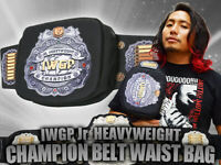 IWGP Junior Heavyweight Champion Belt Waist Bag New Japan Pro Wrestling NJPW