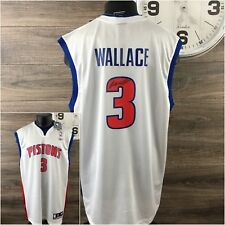 Ben Wallace Autographed Reebok Jersey Men's XL New With Tags