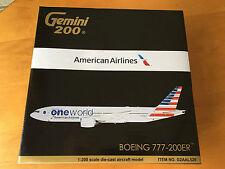 Gemini Jets American Boeing 777-200 1:200 Gemini Jets 70559 Model