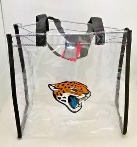 Jacksonville Jaguars Clear Reusable Bag--NFL--Entry Compliant 12 X 12 X 6