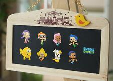 9PCS Bubble Guppies Fridge Blackboard Magnets DIY Refrigerator Stickers Kid Gift