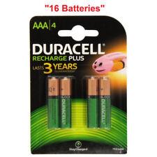Batterie ricaricabili Duracell per articoli audio e video AAAA