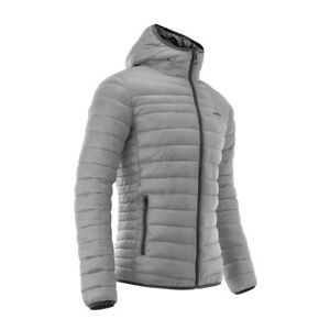 ACERBIS PEAK 73 REVERSIBLE JACKET GREY CASUAL PADDED QUILTED NEW MX CHEAP WINTER