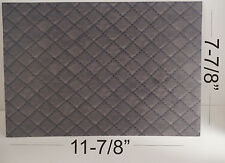 "Kydex Sheet Approx 11 7/8"" x 7 7/8"" with Infused Diamond Leather  1 Sheet"