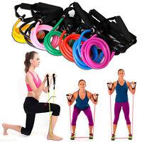 Fitness Latex Elastic Resistance Band Equipment Pilates Tube Pull Rope Gym Yoga