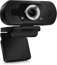 1080P Full HD USB Webcam for PC Desktop and Laptop Web Camera with Microphone