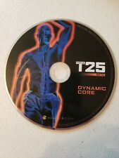 T25 Beachbody Beta Dynamic Core Replacement Dvd Disc 25 min Workout Euc Fitness