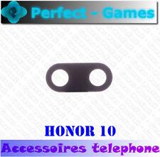 Huawei Honor 10 lentille vitre verre cache camera arrière back glass lens cover