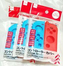 3 pack Joy Con Silicone Cover Case Sleeve for Nintendo Switch Joy-Con Controller