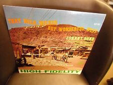 Johnny Bond That Wild Wicked But Wonderful West LP Starday Records VG+