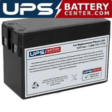 FirstPower Fp1227 12V 2.8Ah F1 Replacement Battery - Side Terminals