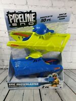 Brand New Pipeline Sno Epic Snowblaster Snowball Shooter Shoots up to 50 FT 2 PK