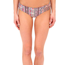 O'NEILL FREE SPRITI HIPSTER CHEEKY BIKINI SWIM BOTTOMS PINK MULTI XLARGE NEW $38