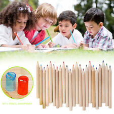 Watercolour Pencils Case Cover Set Artists Sketching Sharpener Stationery